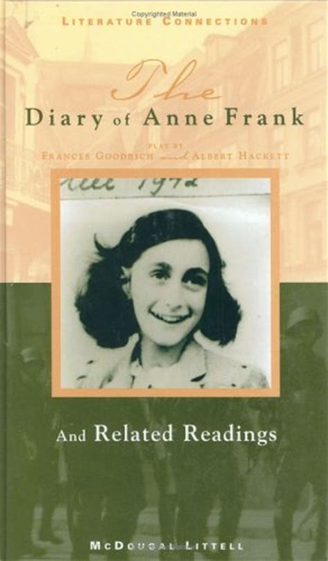 anne frank biography book report the diary of anne frank by frances goodrich and albert