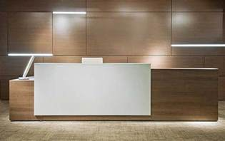 Contemporary Reception Desk Reception Desks Contemporary And Modern Office Furniture 9th Reception