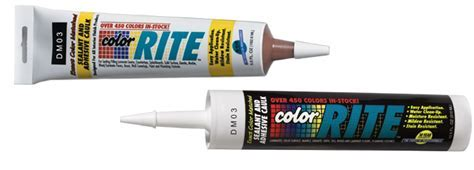Color Rite Color Matched Caulking   Color Rite, Inc.