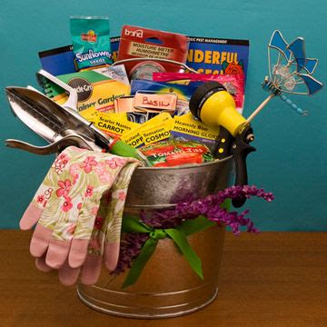 Garden Gift Basket Ideas Special Gifts For