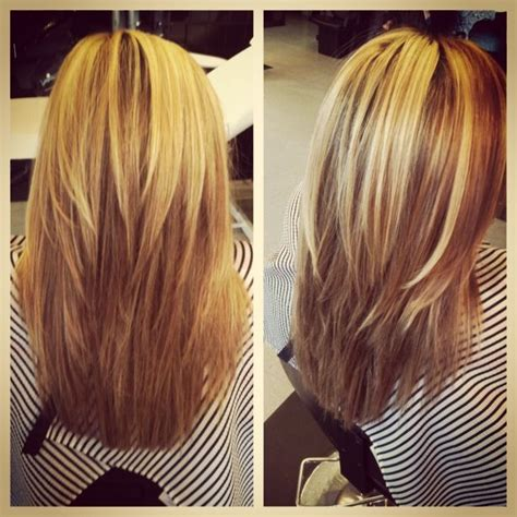 long hair short layers pictures of color cuts and up short layers on long hair projects completed pinterest