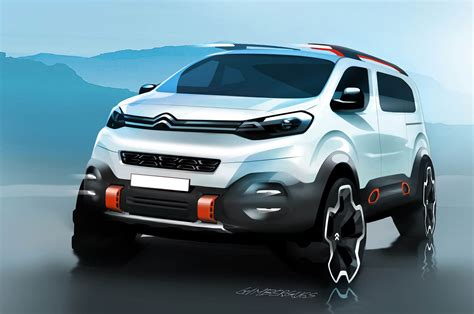 concept van citroen spacetourer hyphen concept proves vans are still
