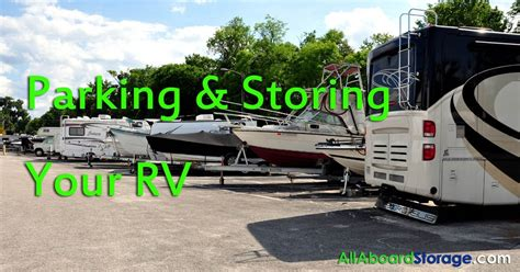 all aboard storage big tree road parking storing your rv all aboard storage