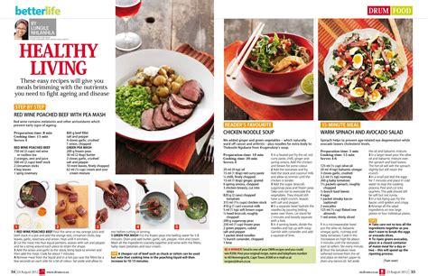 Layout Magazine Food | food layout layout design