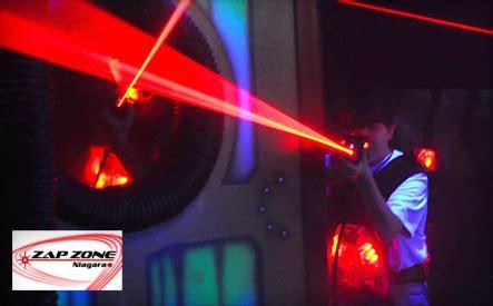 wagjag: up to 66% off laser tag at zap zone niagara (3