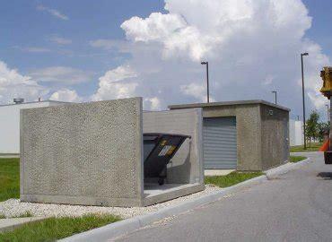 precast concrete garbage enclosures precast buildings