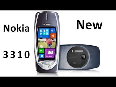 nokia 3310 new 2014 with 41 megapixel camera and windows