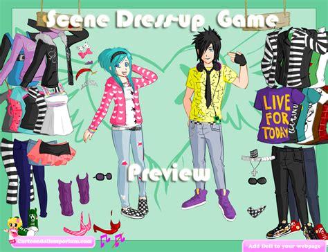 emo dress up games super fashion dress emo dress up games