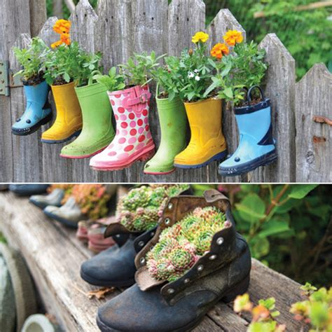 garden decoration recycled 7 unique gardening decor ideas with recycled items slide 3