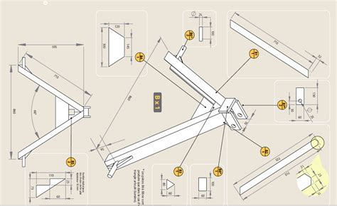 3 point hitch dimensions diagram triangle attach to 3 point hitch farm hack