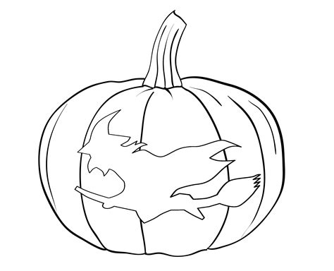 Free Printable Pumpkin Coloring Pages For Kids Pumpkin Coloring Pages Print