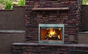 outdoor wood burning fireplace insert superior 36 inch laredo outdoor wood burning fireplace