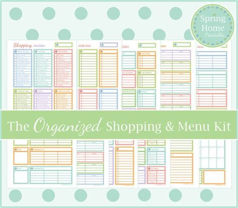 free printable homemaking journal 17 best images about homemaking printables on pinterest