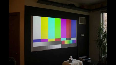 diy goo paint projector screen