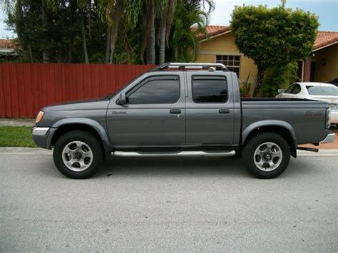 purchase used 2000 nissan frontier se crew cab 4