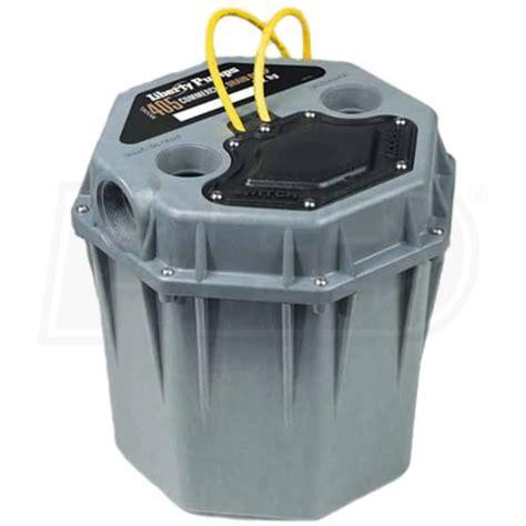 sink sump liberty pumps 405hv 1 2 hp high temperature commercial