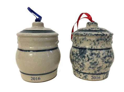 pottery ornaments ornament 2016 water cooler wing stoneware