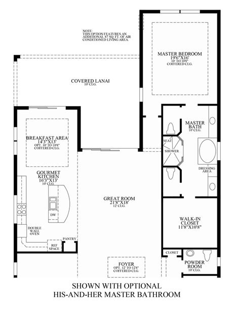 his and her bathroom floor plans jupiter country club golf villas the fiorenza home design