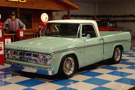 1969 dodge d100 1969 dodge d100 green white a e classic cars