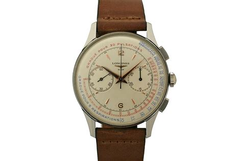 1960 longines chronograph for sale mens vintage