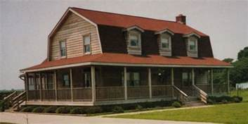 barn style house plans with wrap around porch gambrel gambrel roof and wrap around porches on pinterest