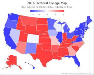 Map Of Blue And Red States by List Of Red Blue States For Election 2016 Autos Post