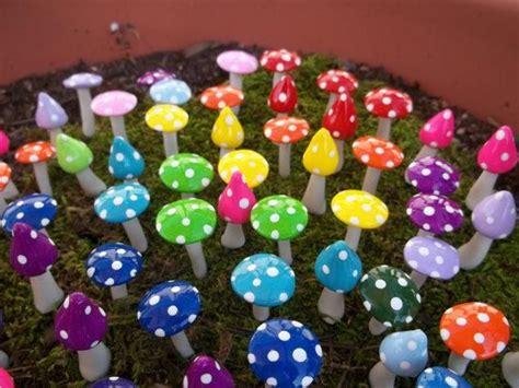 miniatur handwerk liefern fairy garten miniaturen pilze