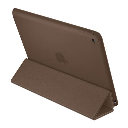 Smart Cover Air Brown apple air 2 leather smart brown