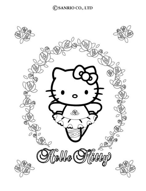 hello kitty dancing coloring pages hello kitty dancing coloring pages hellokids com