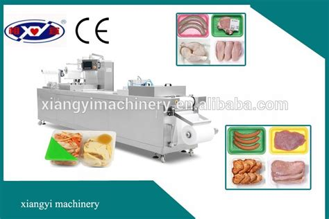 Modified Atmosphere Packaging Of Bread Products by Tray Modified Atmosphere Packaging Machine Map Packing