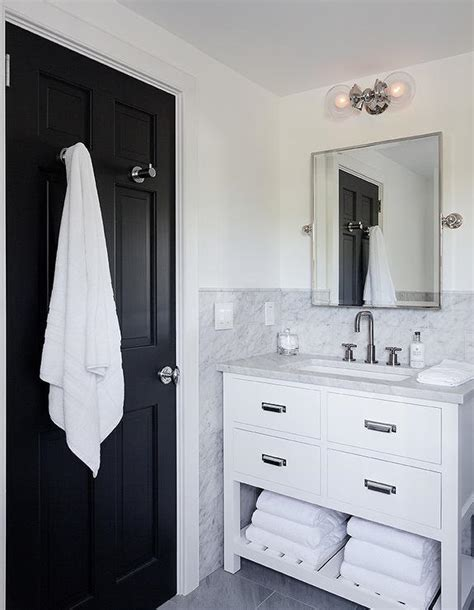 bathroom door hooks for towels white and black bathroom with restoration hardware