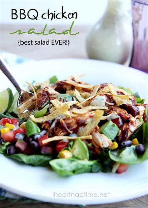 best salad recipes bbq chicken salad best salad ever i heart nap time