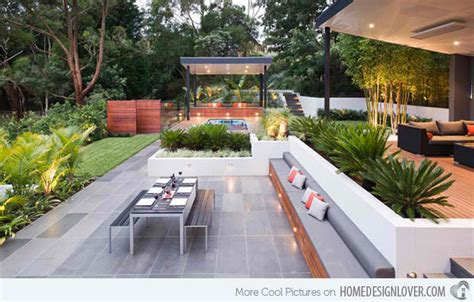 modern backyard ideas 15 contemporary backyard patio designs
