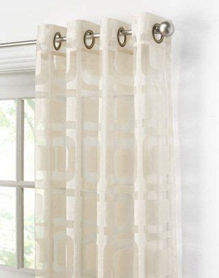 modern grommet style sheer panels yelp 1172 best images about home kitchen on pinterest futon mattress contemporary bedding and