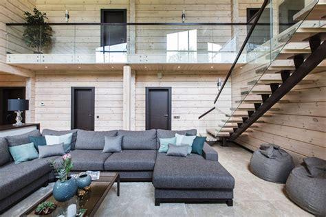 glasgeländer innen 93 wohnzimmer holzverkleidung kreative