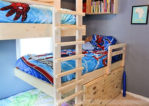 Three Level Bunk Bed Three Level Bunk Bed Diy Three Level Bunk Bed Valine