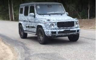 Mercedes In Colorado Here Is The 2019 Mercedes G Wagen Testing In