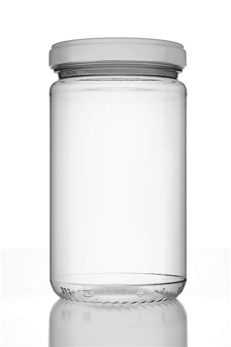 glass jars photorealistic empty jar with lid and lab by mario teodoru 3docean