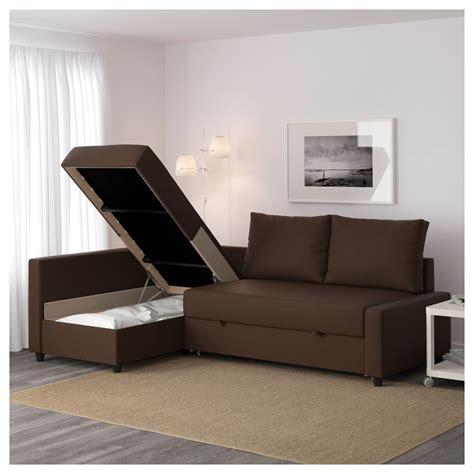 ikea sofa friheten uk friheten corner sofa bed with storage skiftebo brown ikea