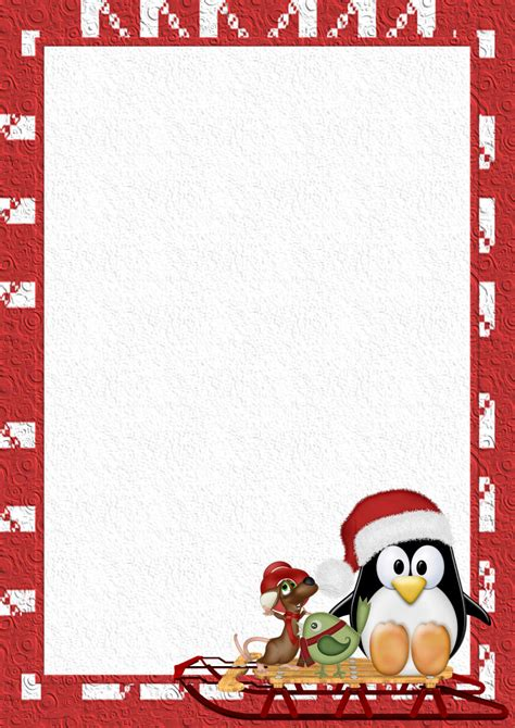 winter letterhead template software