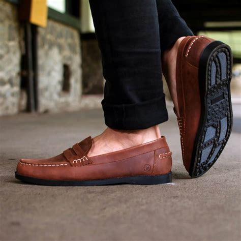 Sandal Kasual Pria Archer Gustavo sepatu kulit slipon gustavo mall indonesia