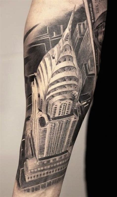 tattoo new york state law bird view like black and white detailed forearm tattoo of