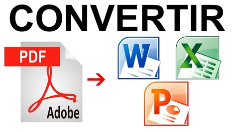 convertir muchas imagenes a un solo pdf como convertir un pdf a word excel powerpoint f 193 cil y