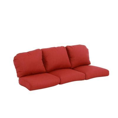 outdoor sectional sofa replacement cushions hton bay walnut creek red replacement outdoor sofa