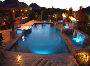 outdoor pool lighting beautiful swimming pool with beautiful lighting outdoor pool ideas ifinterior a daily