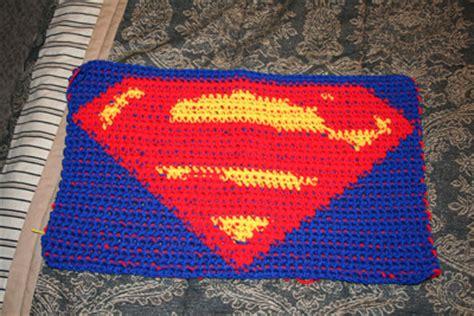 crochet superman logo pattern free superman logo in crochet by phoenixcrochet on deviantart