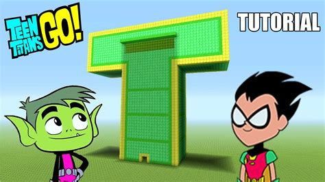 teen titans house minecraft tutorial how to make the teen titans go t tower island adventures