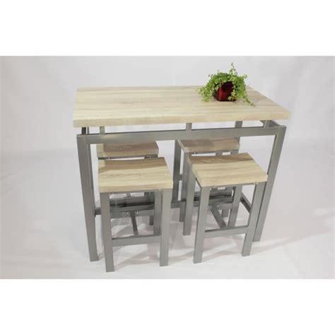 Table Haute Avec Tabourets table haute mange debout avec tabouret achat vente