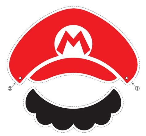 How To Make A Mario Hat Out Of Paper - nintendo releases official mario luigi paper hats