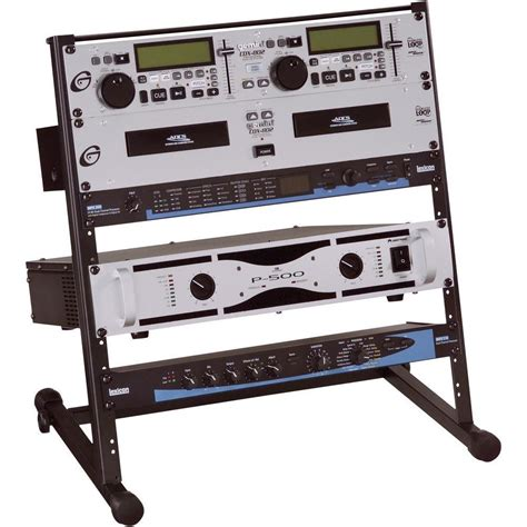 Rack Stand by 19 Inch Rack Stand 12 U Studio Steel From Conrad
